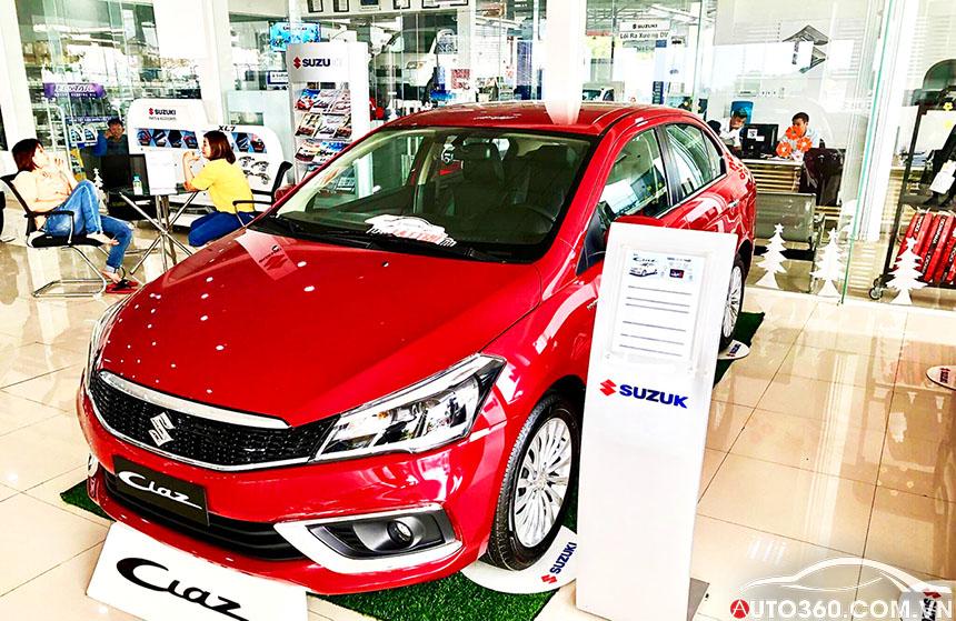 Suzuki Ciaz An Giang đại lý chính hãng Suzuki
