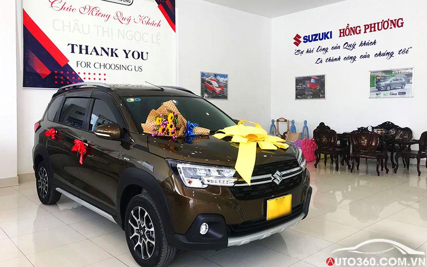 trưng bày Suzuki XL7 tại Showroom Suzuki Tiền Giang
