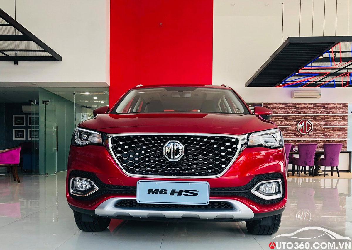 Trưng bày xe MG HS tại Quảng Nam showroom chính hãng 3s