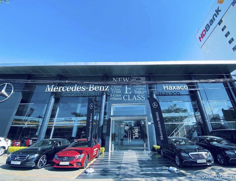 Mercedes Hàng xanh đại lý chính hãng Mercedes haxaco điện biên phủ