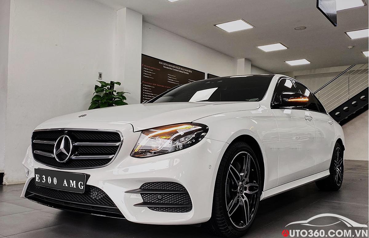 Mercedes E 200 Tây Ninh Showroom chính hãng 5S