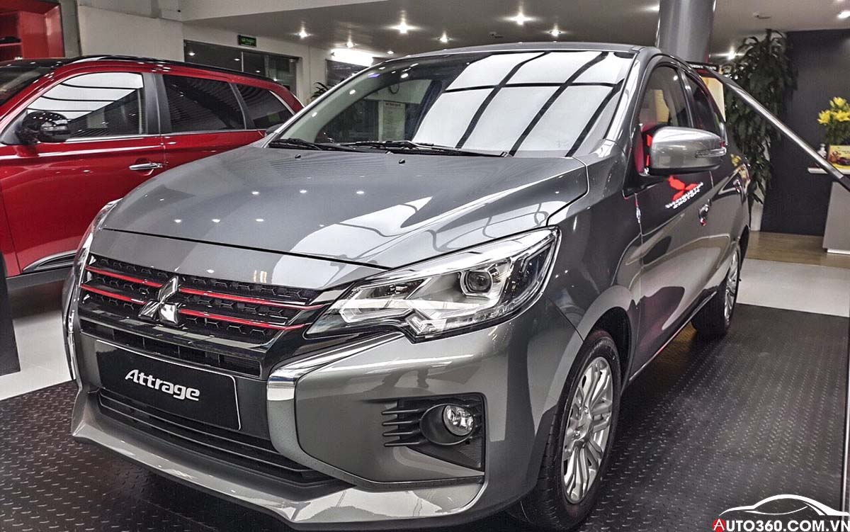 Mitsubishi Attrage Trà Vinh
