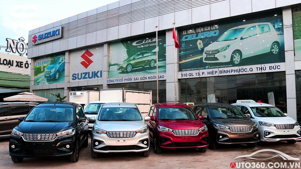 Suzuki Sài Gòn Ngôi Sao Quận Thủ Đức